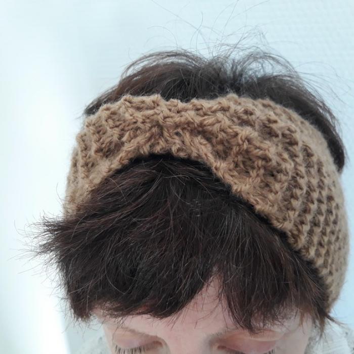 DIY : comment faire un headband en tricot