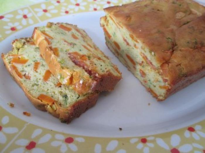Cake Au Legumes Et Chorizo